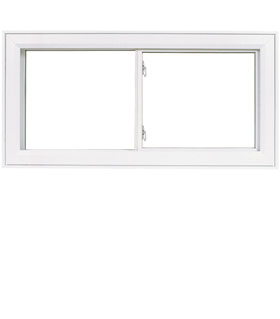 Fen tres pvc coulissante double brillmat for Fenetre in english
