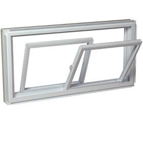 Fen tres en aluminium coulissante double brillmat for Nettoyer fenetre aluminium